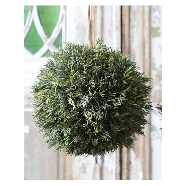 Cypresskugle - naturtro - ø28 cm